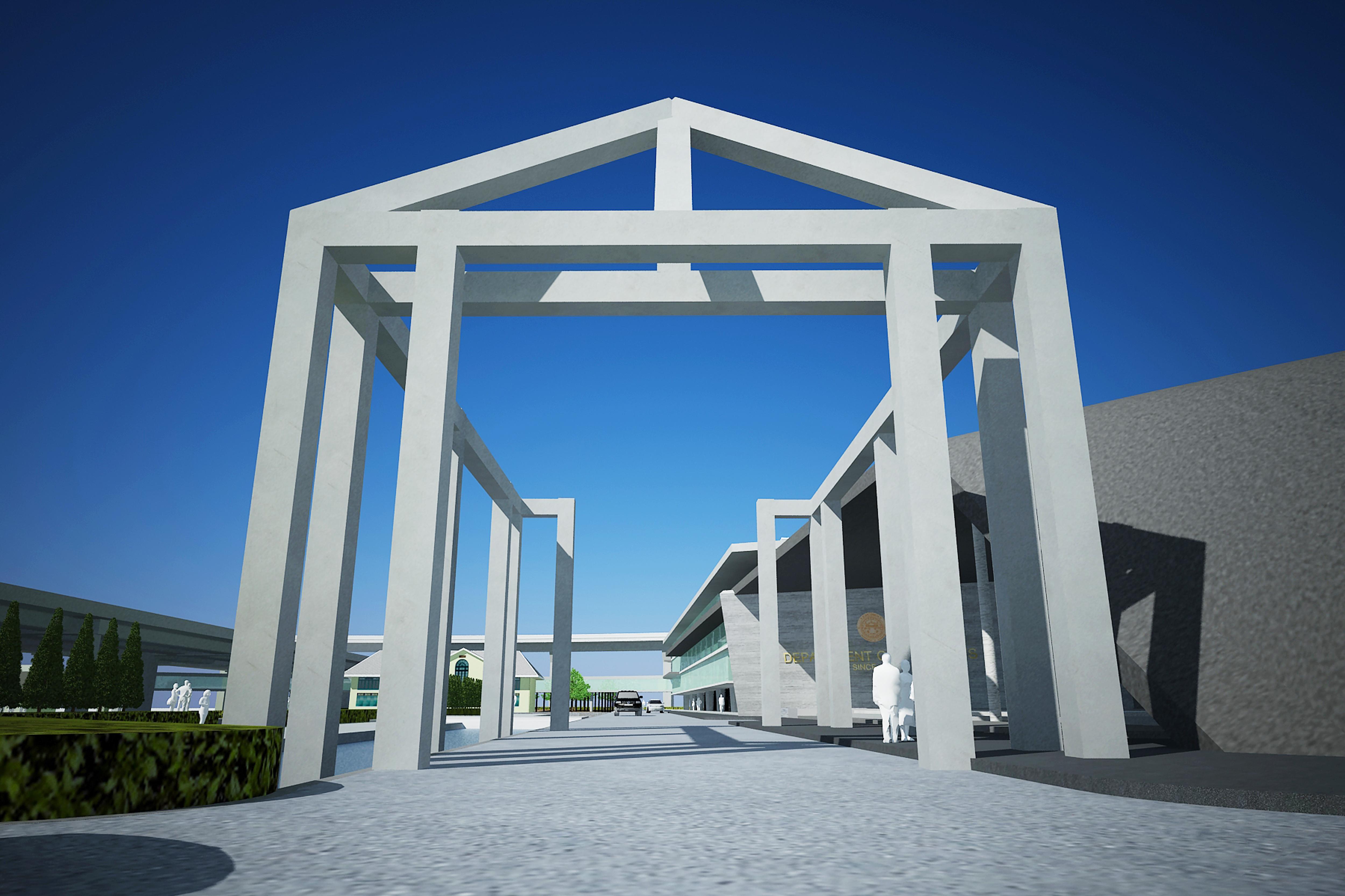 Big sculpture