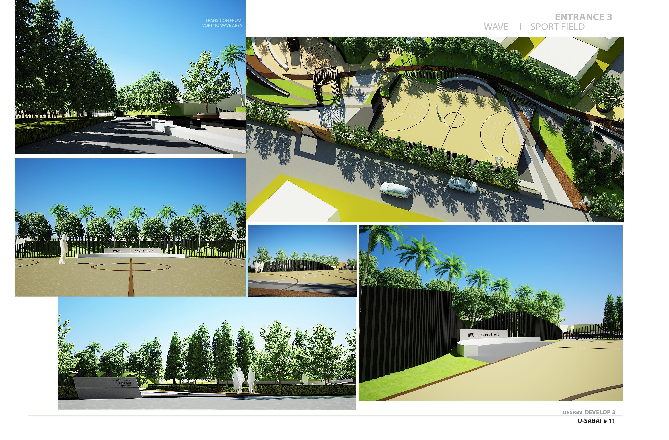 Landscape - Wave Sport field