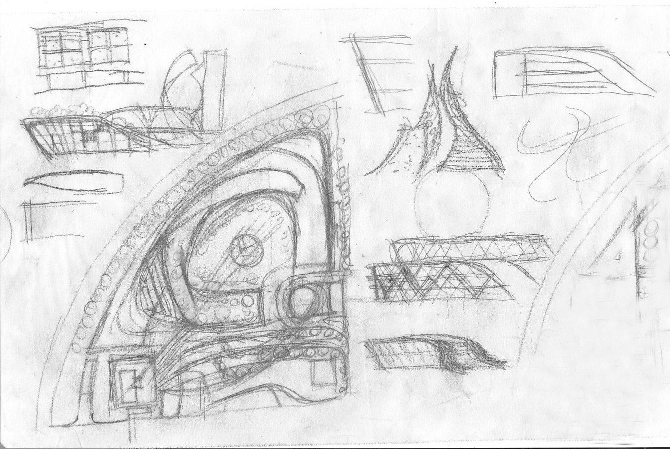 Concept design (Sketch)