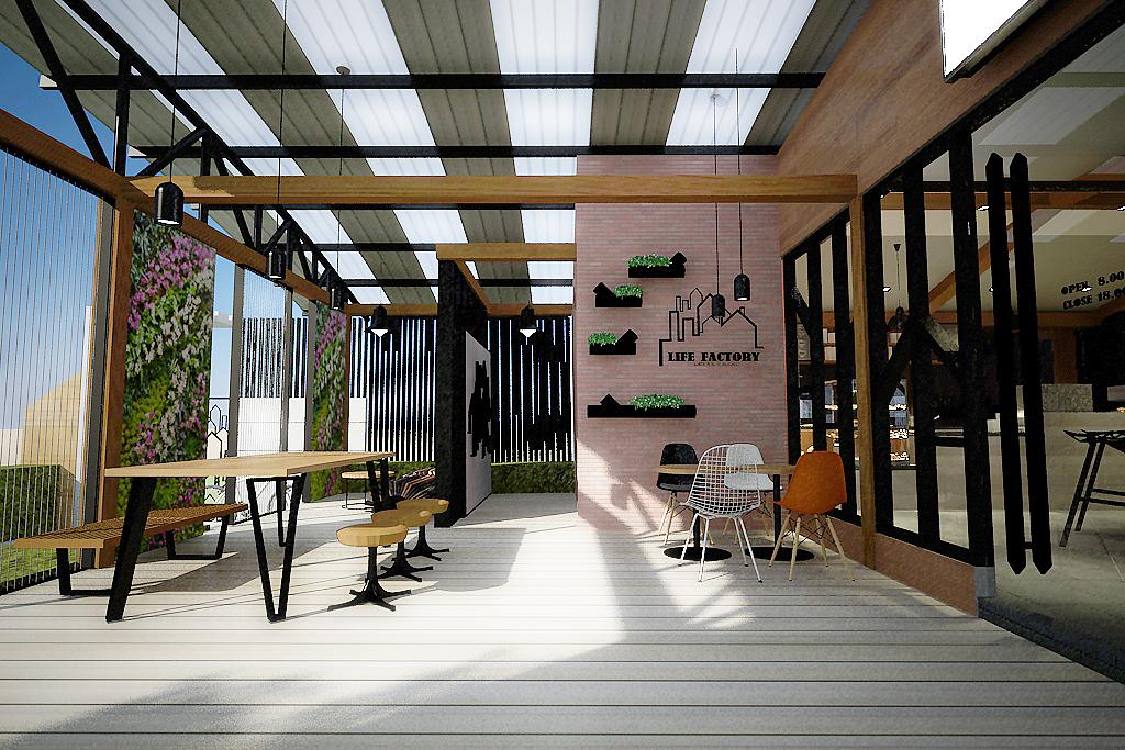 Terrace (semi outdoor area)