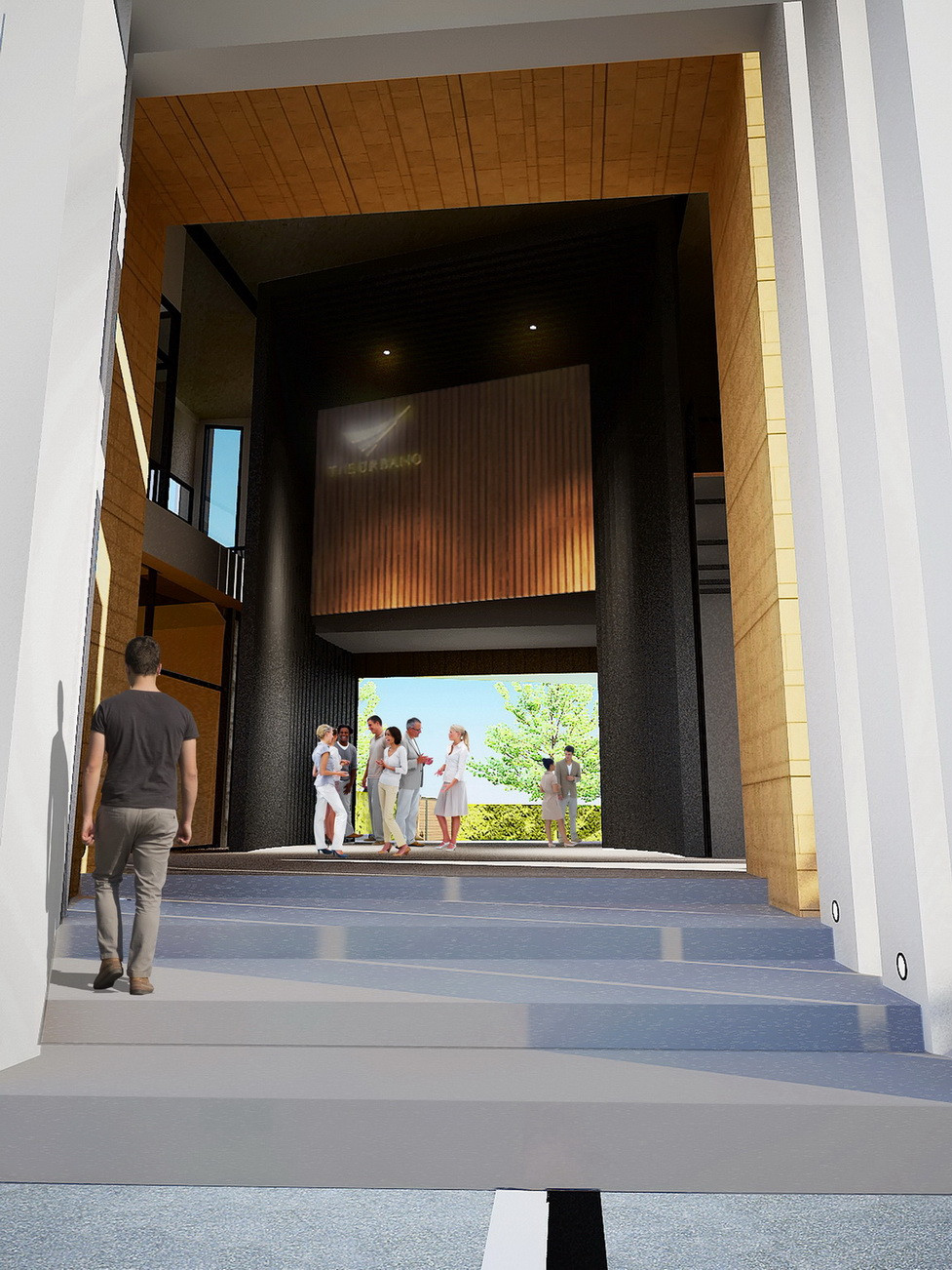 Entrance + Corridor