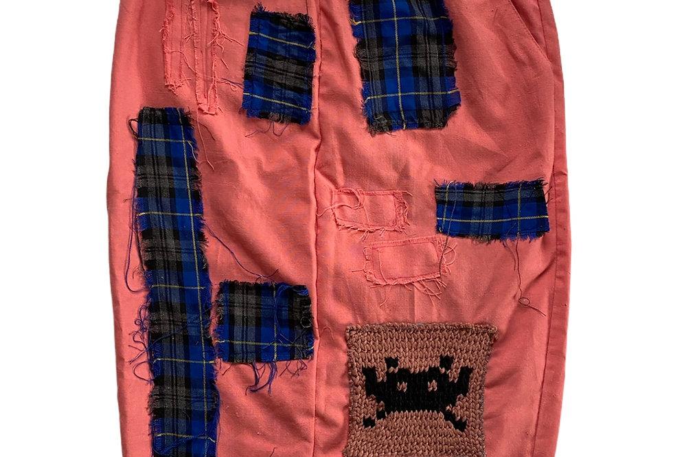 Spice invaders midi length skirt