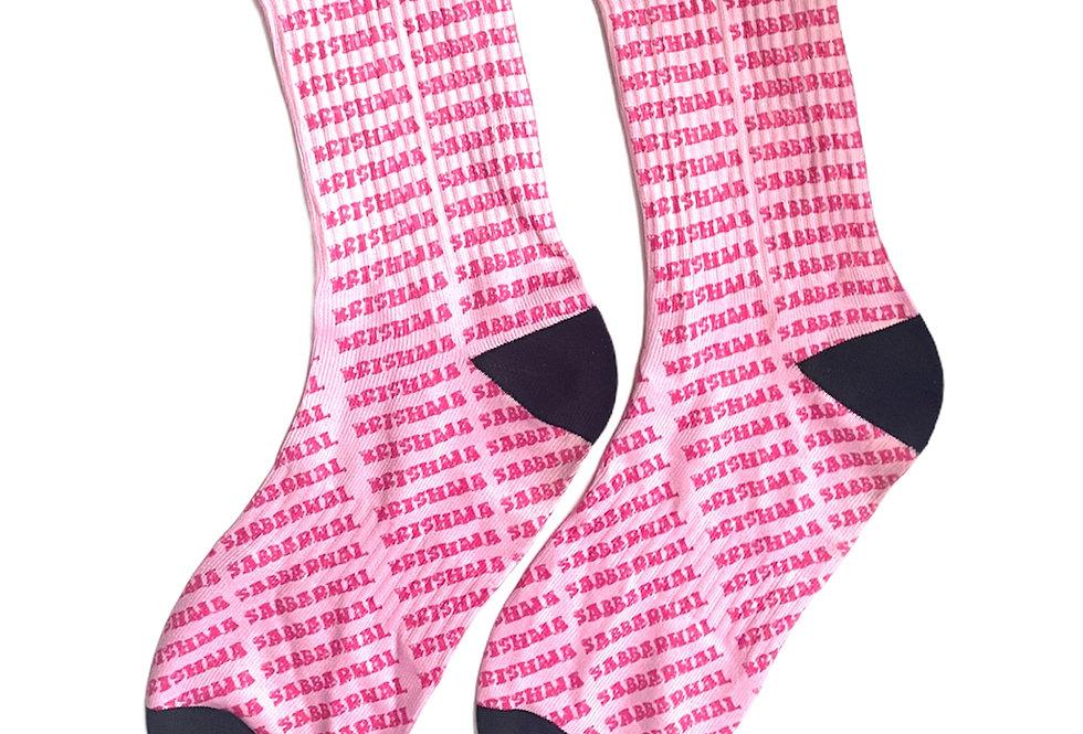 Krishma Sabbarwal Printed Socks