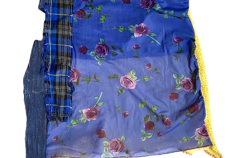 The Marsha asymmetric cutout skirt