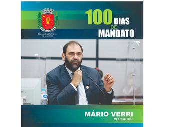 100 dias do meu mandato na Câmara Municipal de Maringá