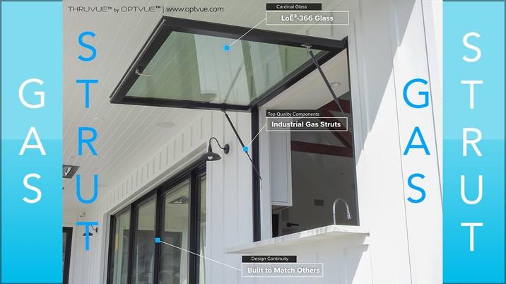Gas Strut Windows by OPTVUE™