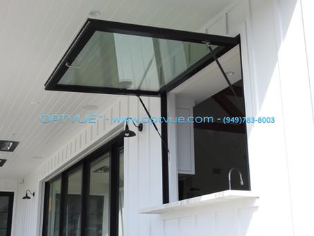 Gas Strut Windows