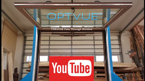 THRVUE™ Pass Through Window as manufactured by OPTVUE™