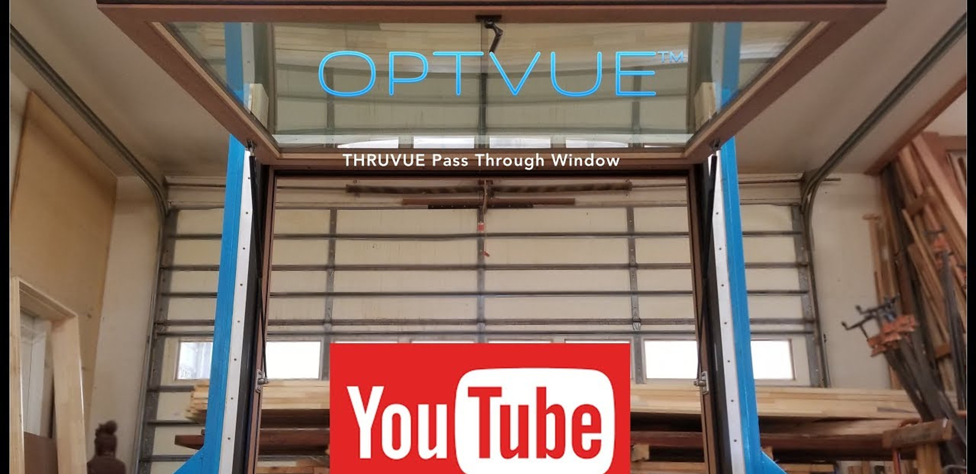 Pass Through Window - THRUVUE™  as Manufactured by OPTVUE™