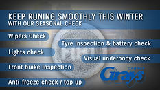 Car Winter Check Warwick | Winter Checks Warwick | Seasonal Checks Warwick