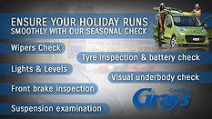 Car Holiday Checks | Holiday Checks Cars | Holiday Check Warwick