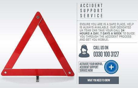 Fiat Accident Helpline | MOPAR Accident Support Service