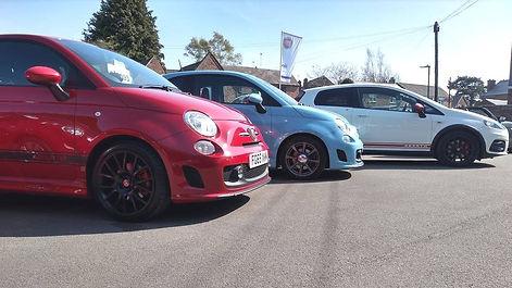 Abarth cars for sale Warwick