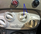 Condensation in Cars, Fiat 500 condensation, clear windscreen, car condensation fix