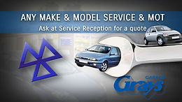 MOT and car service ask for a quote