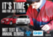 MOT Test & Car Service Offer for cars upto 1600cc and over 3 years old