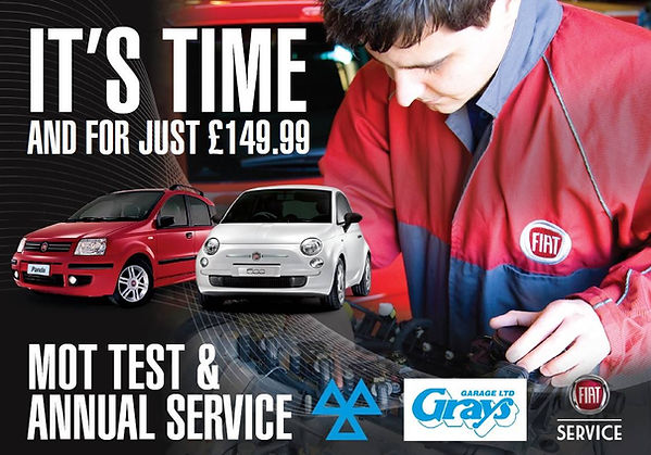MOT and car service offer, car service and MOT £149.99 T&C's apply