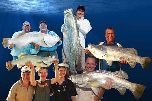 Darwin Barramundi fishing charters at Dundee Beach