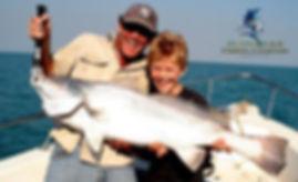 Family fishing trips in Darwin