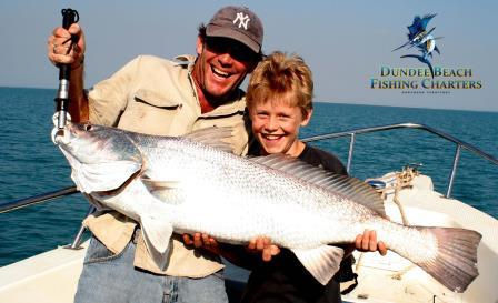 Family fishing trips in Darwin