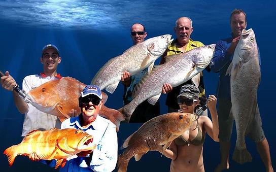 Reef fishing charters at Dundee Beach better than Darwin fishing charters