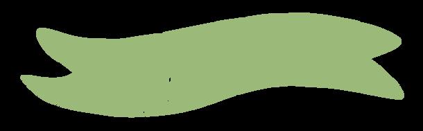 Ruban peint en vert