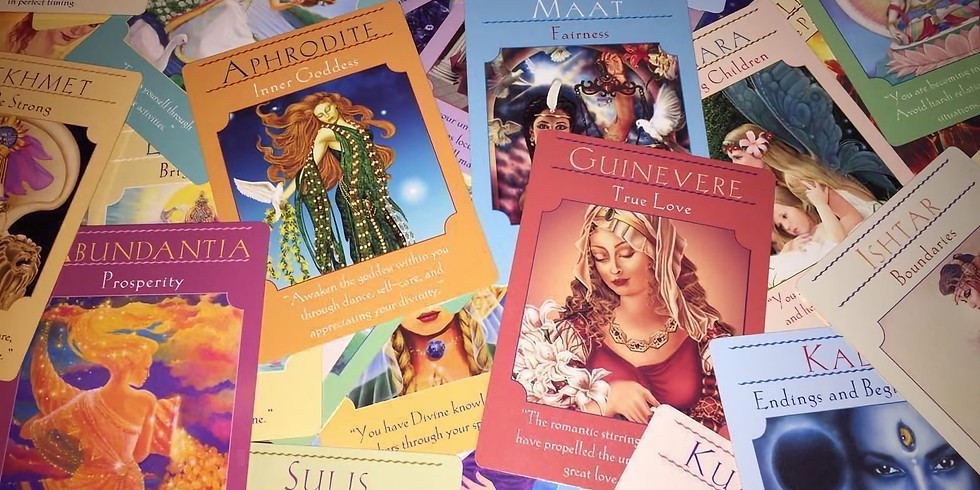 Online Oracle Card Class