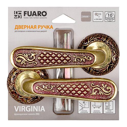 Ручка раздельная VIRGINIA SM/HD RB-10 французское золото