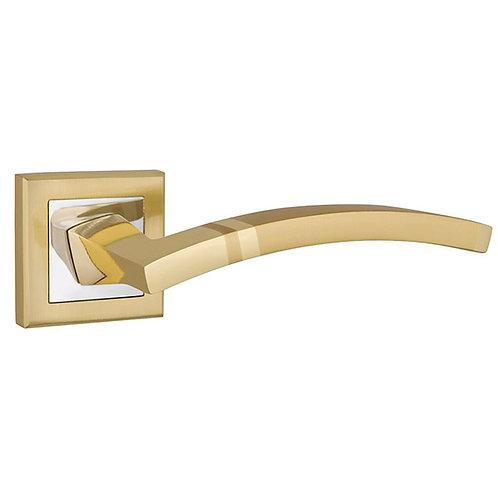 Ручка раздельная NAVY QL SG/CP-4 матовое золото/хром