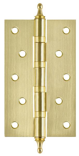 Петля  4BB/A/BL 125x75x2.5 SB (мат. золото) БЛИСТЕР