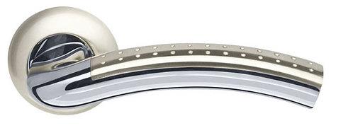 Ручка раздельная Libra LD26-1SN/CP-3 матовый никель/хром