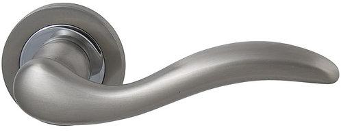 Ручка раздельная Pegaso (ROSET) матовый никель/хром
