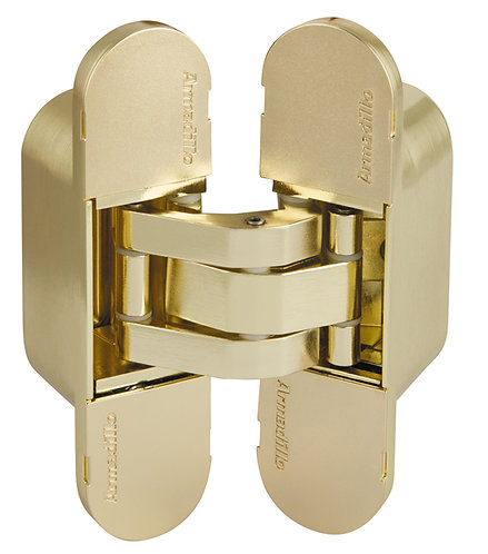 Петля скрытой установки с 3D-регулировкой 11160UN3D SG Мат золото
