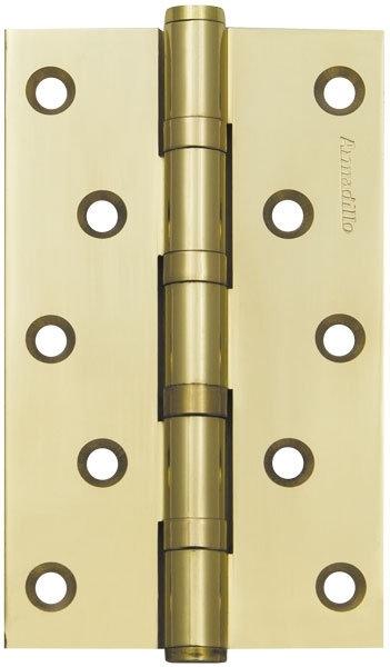 Петля  5500C (500-C5) 125х75х3 GP Золото Box