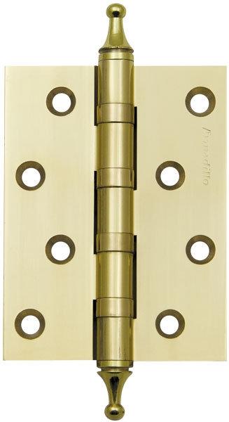 Петля  4500A (500-A4) 100x75x3 GP Золото Box