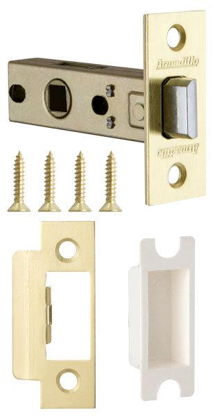 Защелка врезная LH 120-45-25 SG Матовое золото BOX /прям/