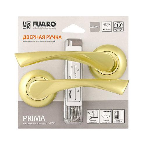 Ручка раздельная PRIMA RM/HD SG/GP-4 матовое золото/золото