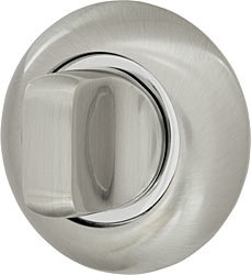 Ручка поворотная WC-BOLT BKW8-1SN/CP-3 матовый никель/хром, без отв.
