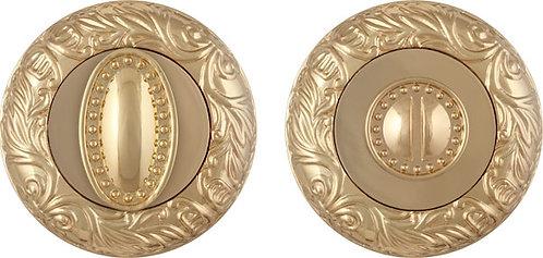 Ручка поворотная BK6 SM GOLD-24 золото 24К