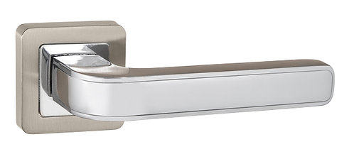 Ручка раздельная NOVA QR SN/CP-3 матовый никель/хром