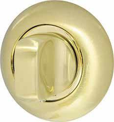 Ручка поворотная WC-BOLT BKW8-1SG/GP-4 матовое золото/золото, без отв.