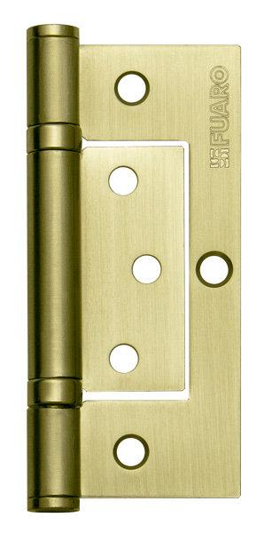 Петля  без врезки 300-2BB 100x2.5 SB (мат. золото)