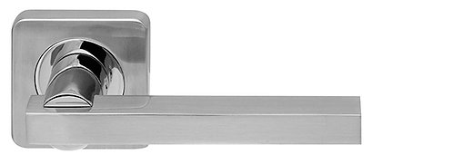 Ручка раздельная ORBIS SQ004-21SN/CP-3 мат никель/хром
