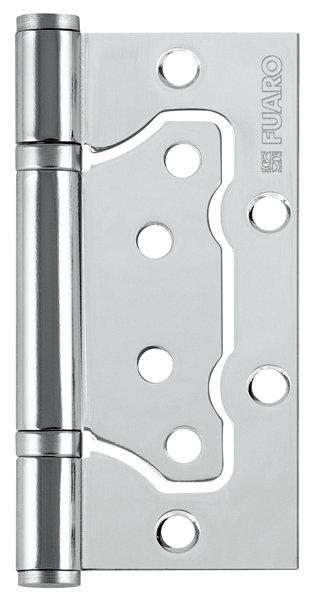 Петля  без врезки 500-2BB/BL 100x2.5 CP (хром) БЛИСТЕР