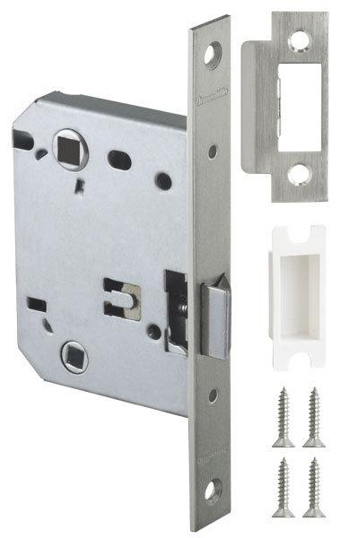 Защелка врезная LH 720-50 SN-3 Мат. никель BOX на 70мм /прям/