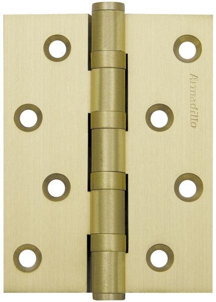 Петля  4500C (500-C4) 100x75x3 SG Мат золото Box