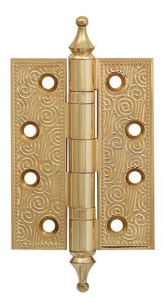 Петля  Castillo CL 500-A4 102x76x3.5 IG Итальянское золото