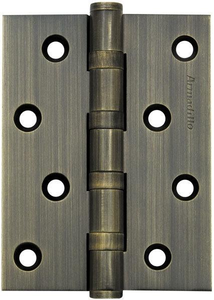 Петля  4500C (500-C4) 100x75x3 AB Бронза Box