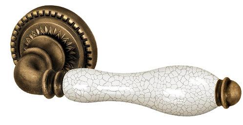 Ручка раздельная Silvia CL1 OB/CRP-213 Античная бронза/кракелюр