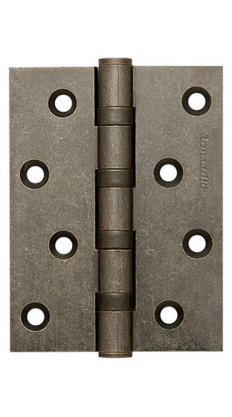 Петля  4500C (500-C4) 100x75x3 AS Античное серебро Box